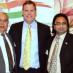 Kam Rathee, Hon. John Baird, and Husain Neemuchwala
