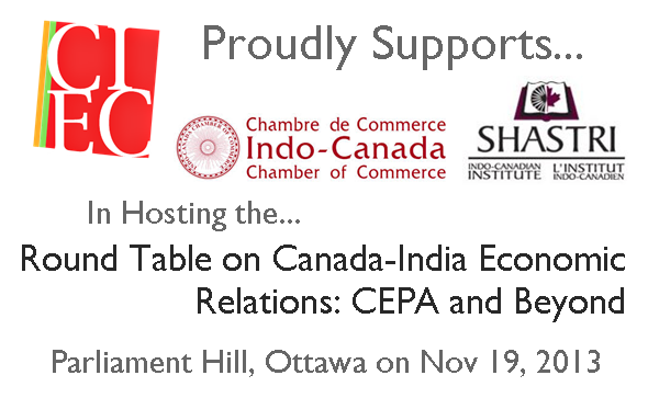 Dinner Roundtable Discussion: 'Canada-India Economic Relations: CEPA and Beyond'