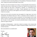 Jason Kenney letter